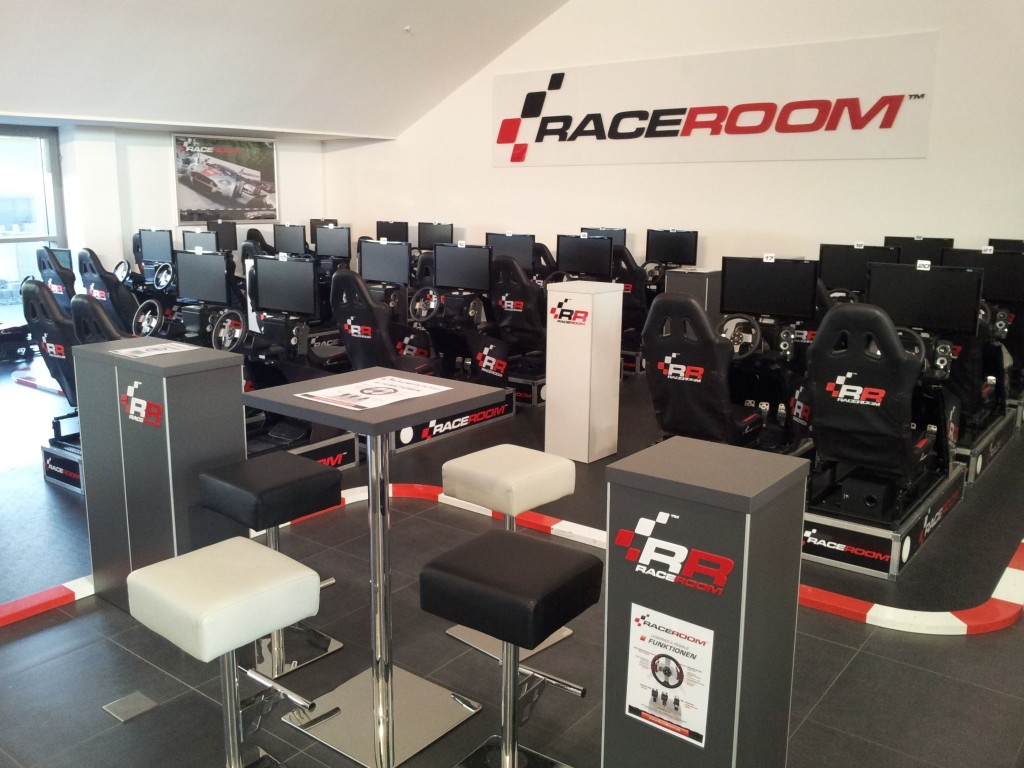 Our simulator fleed - ready for your race!